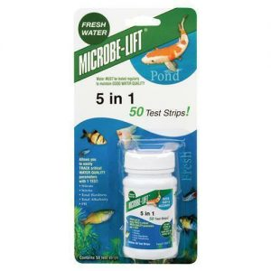 5 In 1 Pond Test Strips Microbe Lift